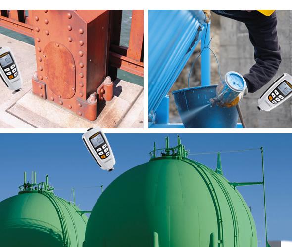 ■用途  自動車、船舶、自転車、化学プラント、アルミ・ステンレス製品、機械部品、 電化製品、貴金属、建造物の塗装・ライニングチェック