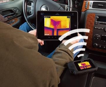 赤外線サーモグラフィーC3 WiFi搭載赤外線カメラ モバイル端末と連動するし効率的 熱を可視化するカメラ