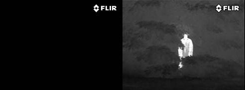 フリアースカウト FLIR Scout 熱を視覚化