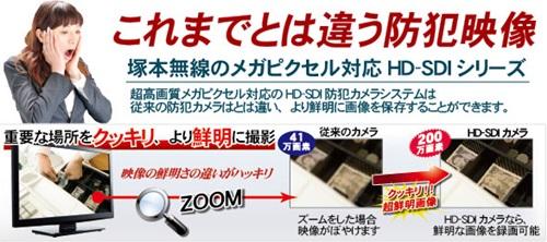 HD-SDI対応4ch デジタルビデオレコーダーWTW-DH620PC/スマホ対応!遠隔監視機能搭載。高画質フルハイビジョン解像度