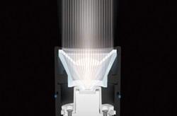 ワルサープロフラッシュライト ビーム調整システム(BAS) 集光ビーム照射
